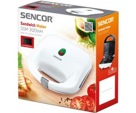 Бутербродница Sencor SSM 3120WH