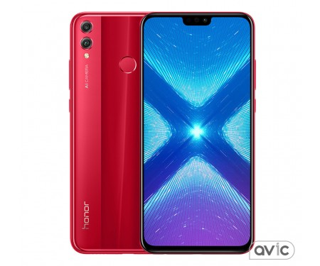 Honor 8X 4/64GB Red