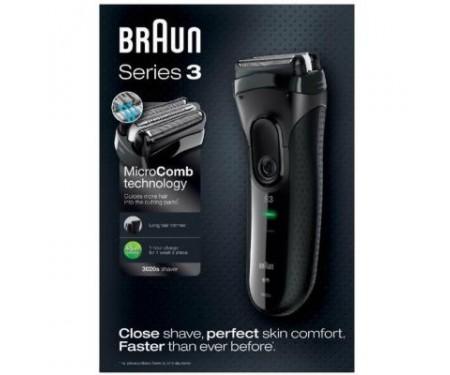 Электробритва Braun Series 3 3020 Black