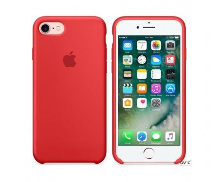 Чехол для смартфона Apple iPhone 8/7 Silicone Case-PRODUCT RED (MQGP2)