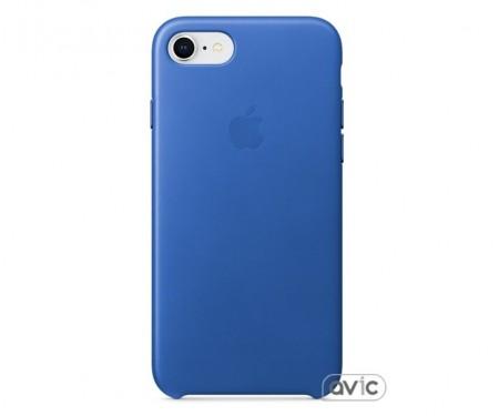 Чехол для смартфона Apple iPhone 8/7 Leather Case-Electric Blue (MRG52)