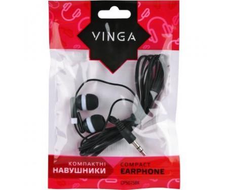 Наушники Vinga CPS015 Black (CPS015BK)