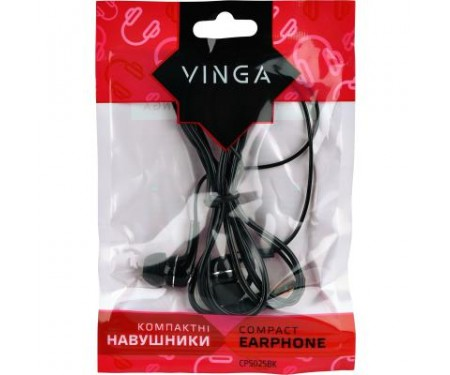 Наушники Vinga CPS025 Black (CPS025BK)