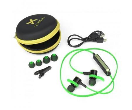 Наушники Vinga EBT050 Bluetooth Green (EBT050GR)