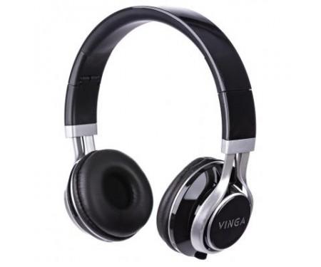 Наушники Vinga HSM040 Black/Silver (HSM040BS)