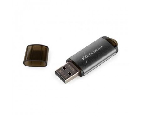 Флешка eXceleram 16GB A3 Series Black USB 2.0 (EXA3U2B16)
