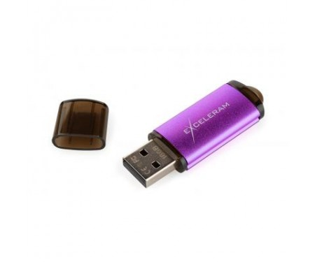 Флешка eXceleram 16GB A3 Series Purple USB 3.1 Gen 1 (EXA3U3PU16)