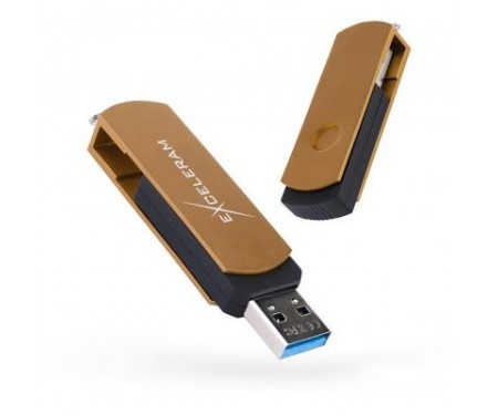 Флешка eXceleram 16GB P2 Series Brown/Black USB 3.1 Gen 1 (EXP2U3BRB16)