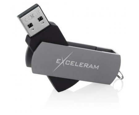 Флешка eXceleram 16GB P2 Series Gray/Black USB 2.0 (EXP2U2GB16)