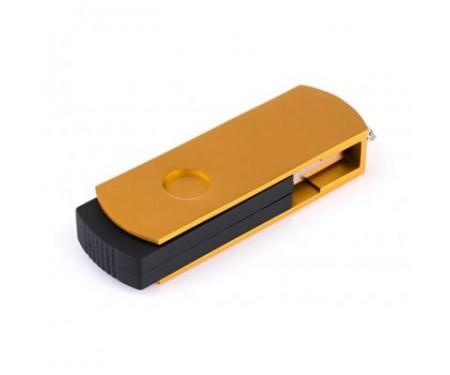 Флешка eXceleram 32GB P2 Series Gold/Black USB 3.1 Gen 1 (EXP2U3GOB32)