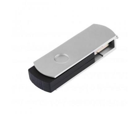 Флешка eXceleram 32GB P2 Series Silver/Black USB 2.0 (EXP2U2SIB32)