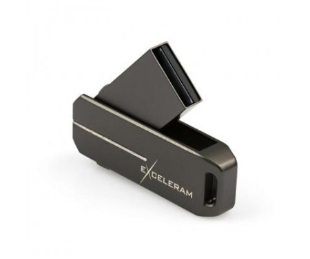 Флешка eXceleram 32GB U3 Series Dark USB 2.0 (EXP2U2U3D32)