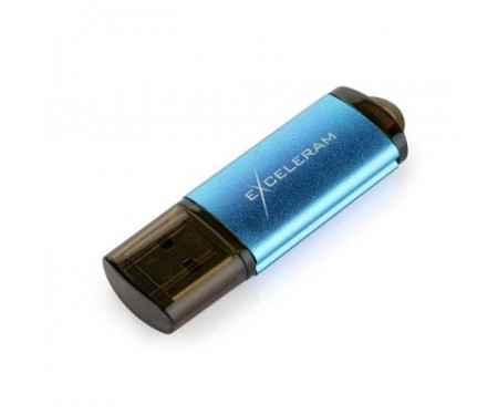 Флешка eXceleram 64GB A5M MLC Series Blue USB 3.1 Gen 1 (EXA5MU3BL64)