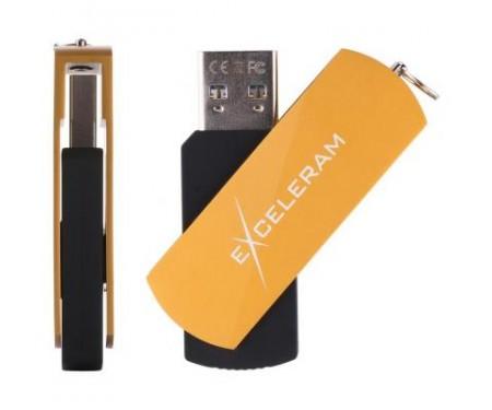 Флешка eXceleram 64GB P2 Series Gold/Black USB 3.1 Gen 1 (EXP2U3GOB64)