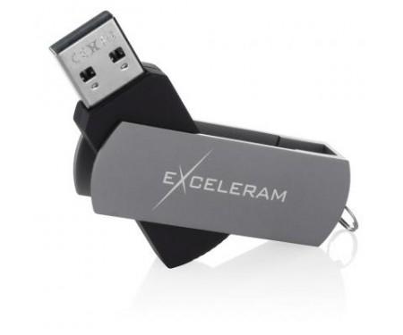 Флешка eXceleram 64GB P2 Series Gray/Black USB 2.0 (EXP2U2GB64)