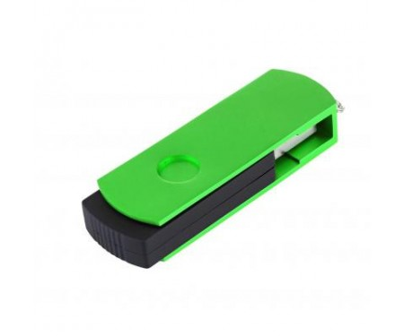 Флешка eXceleram 64GB P2 Series Green/Black USB 2.0 (EXP2U2GRB64)