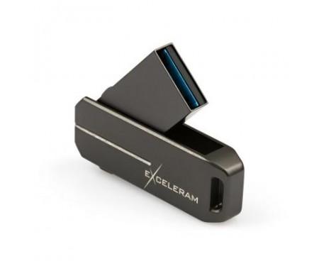 Флешка eXceleram 64GB U3 Series Dark USB 3.1 Gen 1 (EXP2U3U3D64)