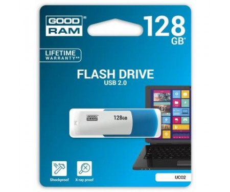 Флешка Goodram 128GB UCO2 Colour Mix USB 2.0 (UCO2-1280MXR11)