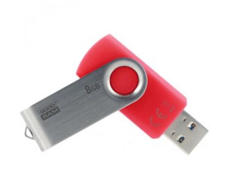 Флешка Goodram 8GB UTS3 Twister Red USB 3.0 (UTS3-0080R0R11)
