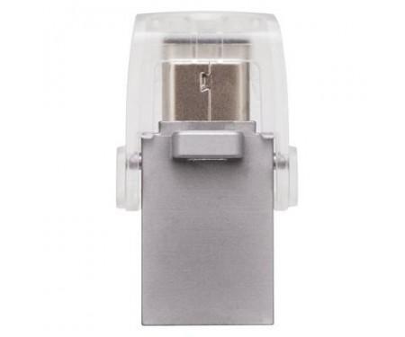 Флешка Kingston 128GB DataTraveler microDuo 3C USB 3.0/Type C (DTDUO3C/128GB)