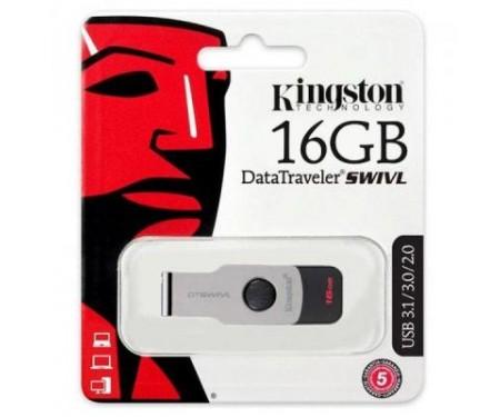 Флешка Kingston 16GB DT SWIVL Metal USB 3.0 (DTSWIVL/16GB)