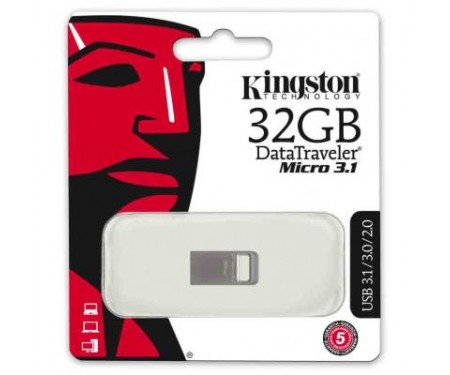 Флешка Kingston 32Gb DT Micro USB 3.1 (DTMC3/32GB)