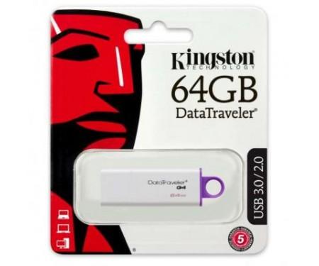 Флешка Kingston 64Gb DataTraveler Generation 4 (DTIG4/64GB)
