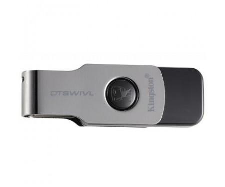 Флешка Kingston 64GB DT SWIVL Metal USB 3.0 (DTSWIVL/64GB)