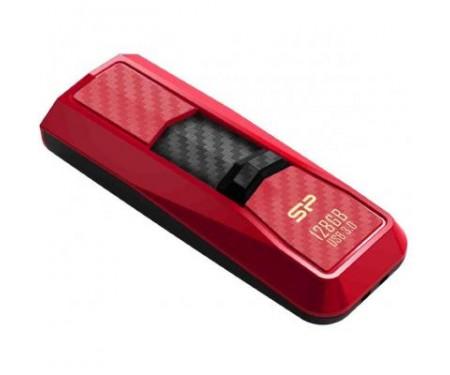 Флешка Silicon Power 128Gb Blaze B50 Red USB 3.0 (SP128GBUF3B50V1R)