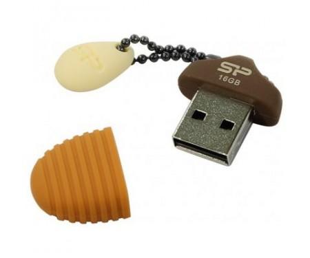 Флешка Silicon Power 16GB Touch T30 Huzelnut USB 2.0 (SP016GBUF2T30V1E)