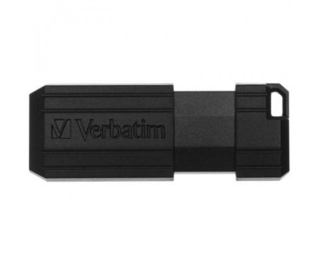 Флешка Verbatim 64GB Store n Go PinStripe Black USB 2.0 (49065)