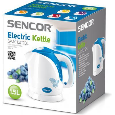 Электрочайник Sencor SWK1502BL