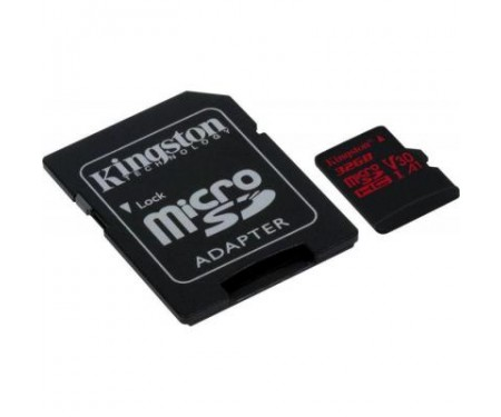 Карта памяти Kingston 32GB microSDHC class 10 UHS-I U3 (SDCR/32GB)