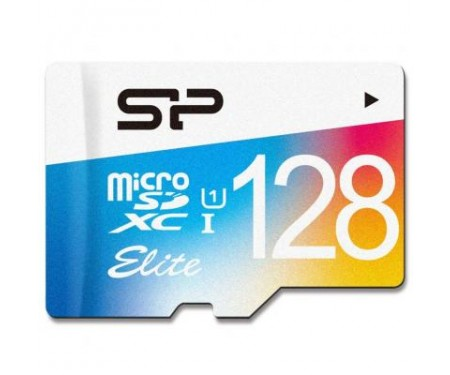Карта памяти Silicon Power 128GB microSDXC class 10 UHS-I (SP128GBSTXBU1V20)