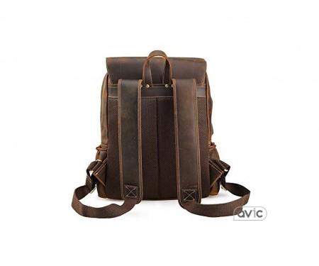 Tiding Men Crazy Horse Leather Backpack (3582FS)