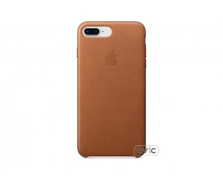 Чехол для смартфона Apple iPhone 8 Plus / 7 Plus Leather Case - Saddle Brown (MQHK2)