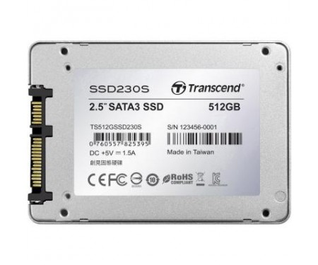 SSD накопитель 2.5 512GB Transcend (TS512GSSD230S)