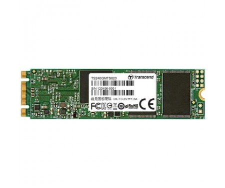 SSD накопитель M.2 2280 240GB Transcend (TS240GMTS820S)