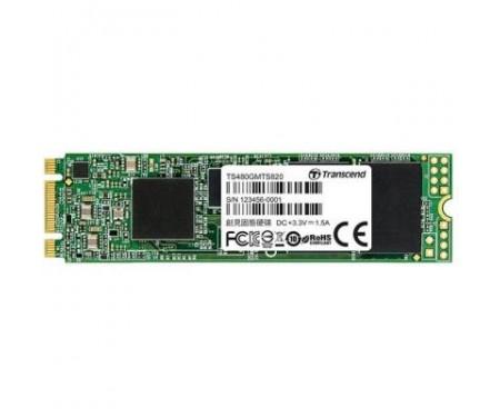 SSD накопитель M.2 2280 480GB Transcend (TS480GMTS820S)