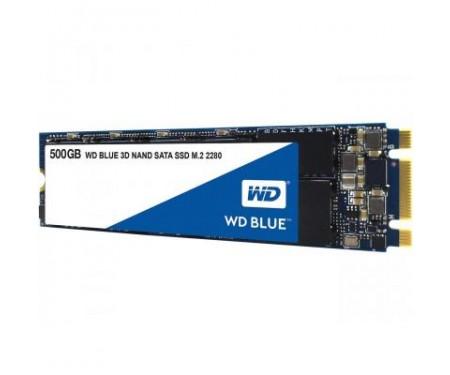SSD накопитель M.2 2280 500GB Western Digital (WDS500G2B0B)