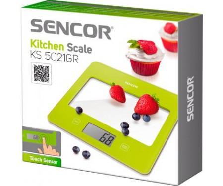 Весы кухонные Sencor SKS5021GR