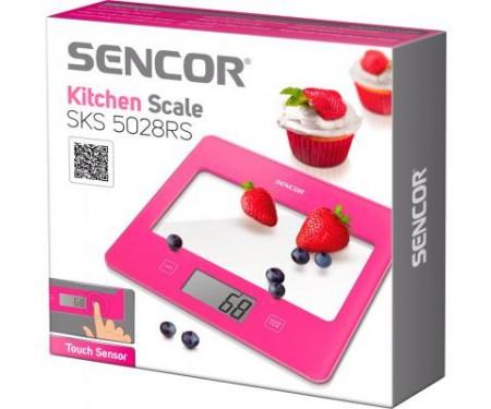 Весы кухонные Sencor SKS5028RS