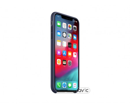 Чехол для смартфона Apple iPhone XS Max Silicone Case - Midnight Blue