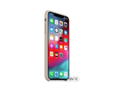 Чехол для смартфона Apple iPhone XS Max Silicone Case - Stone (MRWJ2)