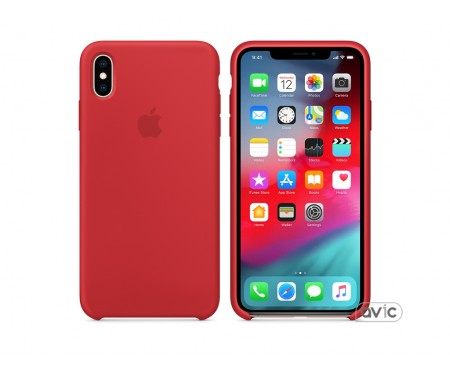 Чехол для смартфона Apple iPhone XS Max Silicone Case - PRODUCT RED (MRWH2)