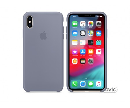 Чехол для смартфона Apple iPhone XS Max Silicone Case - Lavender Gray