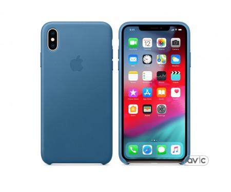 Чехол для смартфона Apple iPhone XS Max Leather Case - Cape Cod Blue
