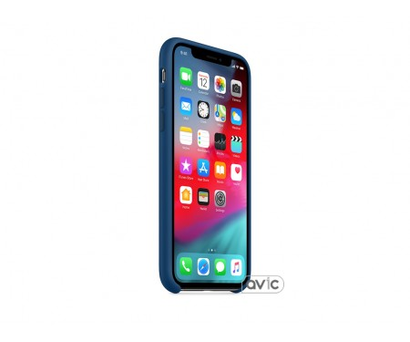 Чехол для смартфона Apple iPhone XS Silicone Case - Blue Horizon
