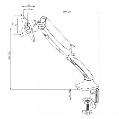 Кронштейн iiyama DS3001C-B1