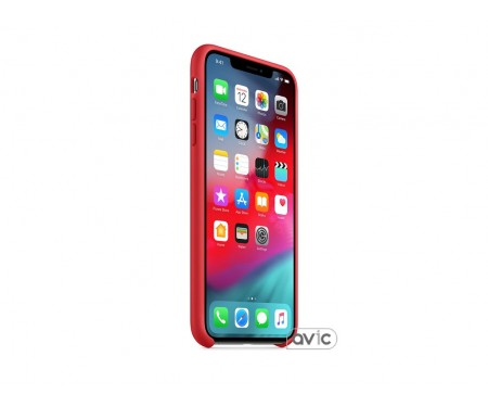 Чехол для смартфона Apple iPhone XS Max Silicone Case - PRODUCT RED (COPY)